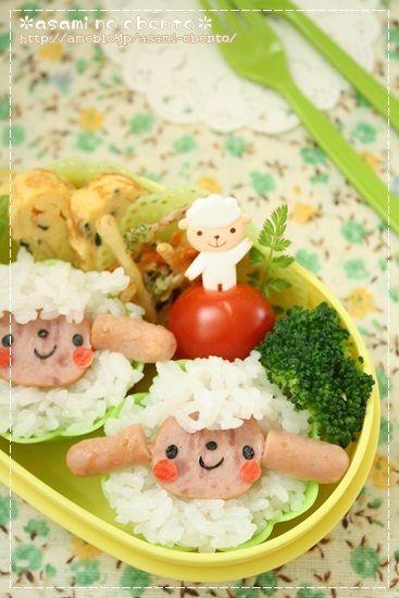ありがとウサギのお弁当。の画像   asamiオフィシャルブログ「asamiのおうち。簡単かわいいキャラ弁…