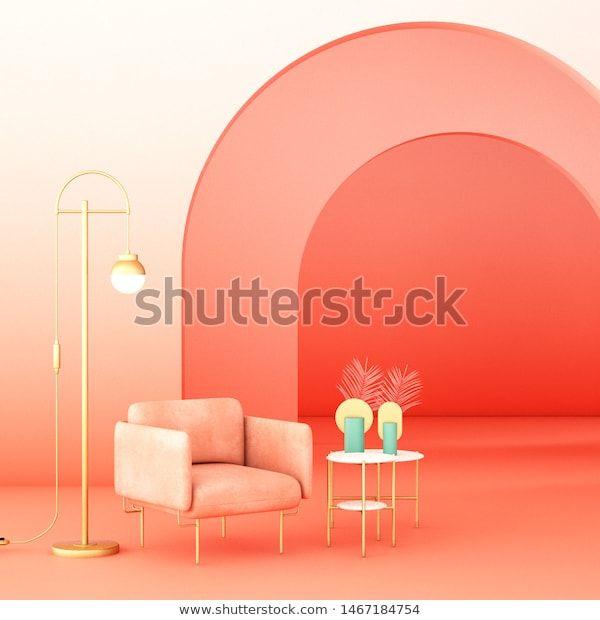 Find Interior Design Geometric Concept Design 3d stock ...