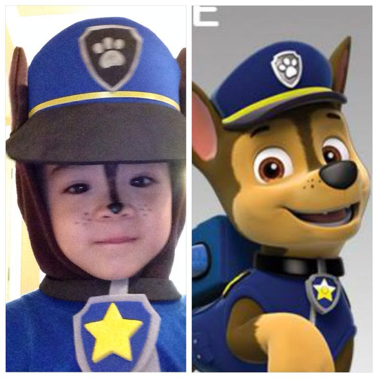 Paw Patrol, Chase costume
