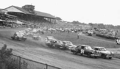 NASCAR season has come a long way since this picture was taken.
