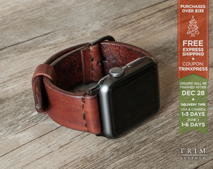 Apple Watch Band Leather Watch Band Minimal Hazel Nut Brown 42mm 38mm Series 1 and 2 [Handmade] [Custom Colors] by TRIMleather on Etsy https://www.etsy.com/listing/455367156/apple-watch-band-leather-watch-band