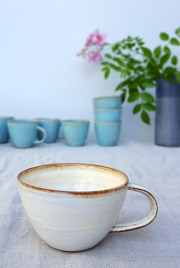 Cappuccino Mug | Fresh Pottery on Etsy