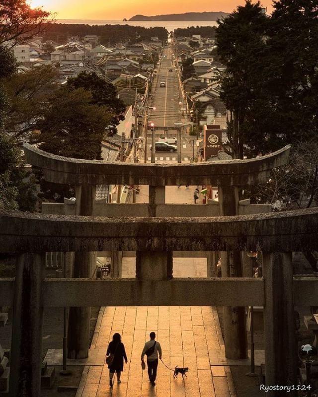 宮地獄神社, Japan