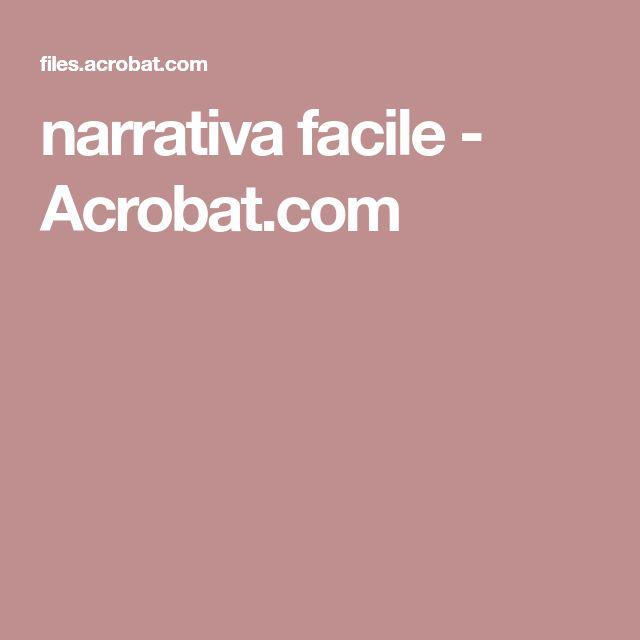 narrativa facile - Acrobat.com