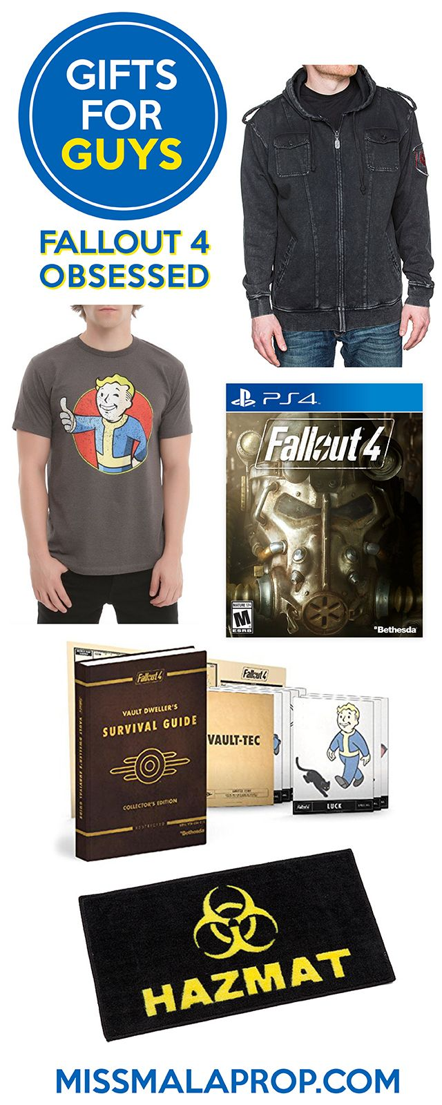 Gifts For Guys: Fallout 4 Obsessed