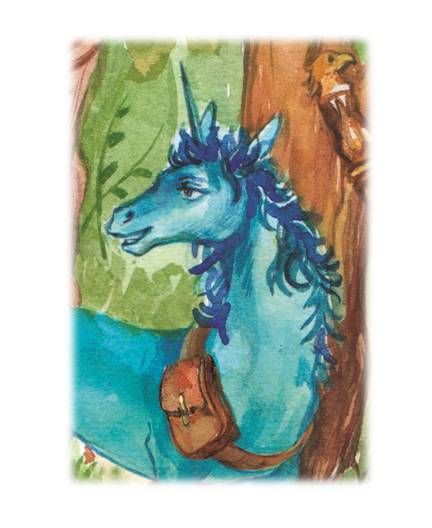 The Blue Unicorn - The Blue Unicorn's Journey To Osm Illustrated book for teens and older readers is all about him and his tribe of magical metal-horned unicorns. #unicornfan #bookunicorn #fangirl #readmore #beautifulbooks