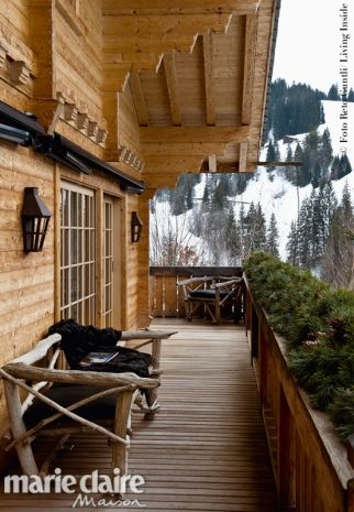 Uno chalet-nido a Gstaad nell'Oberland Bernese