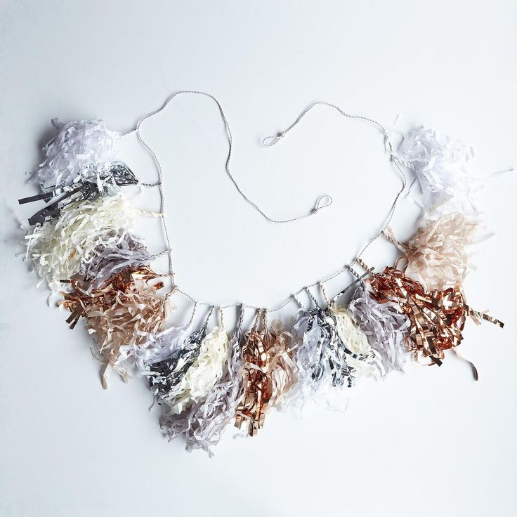 Moon Shadow Fringe Tassel Garland on Food52