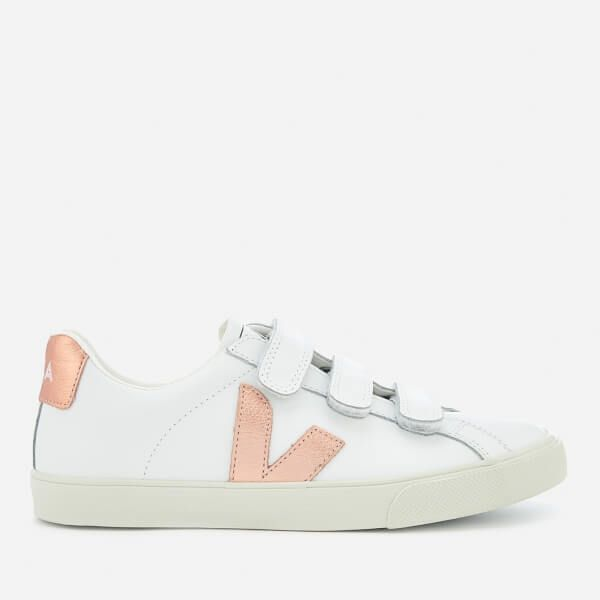 Veja Women's 3-Lock Leather Trainers