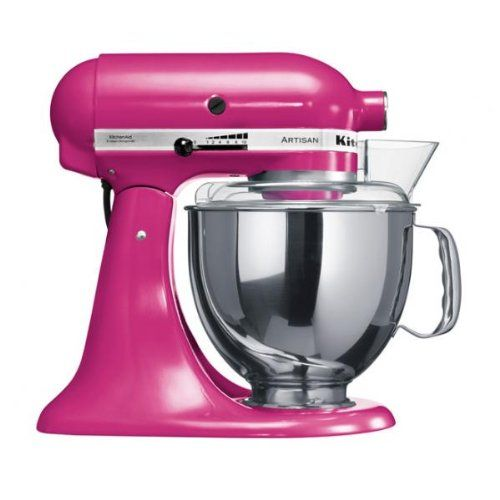Kitchenaid Artisan 5KSM150PSECB Robot Ménager Rose Fuschia Kitchenaid http://www.amazon.fr/dp/B003HTVXYI/ref=cm_sw_r_pi_dp_7vUvwb1H9XSTB