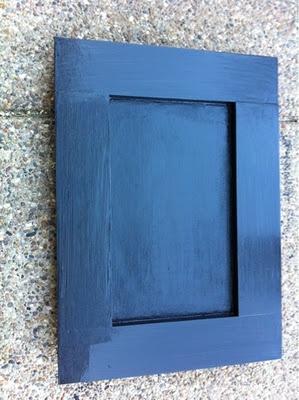 Chalkboard with Chalkboard frame