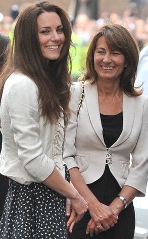 Kate Middleton and her mom, Carole
