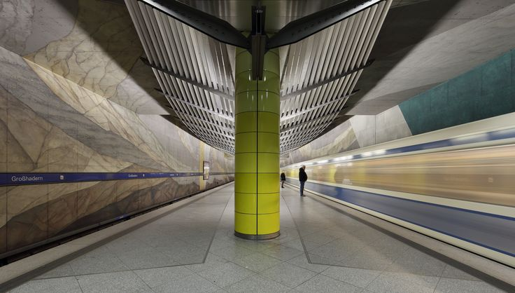 Großhadern a Munich U-Bahn station on the U6 [58583333]
