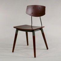 Old School Chair Als Esszimmer Stuhl Ist Echt Industrial Vintage. Schöne  Retro Design Stühle