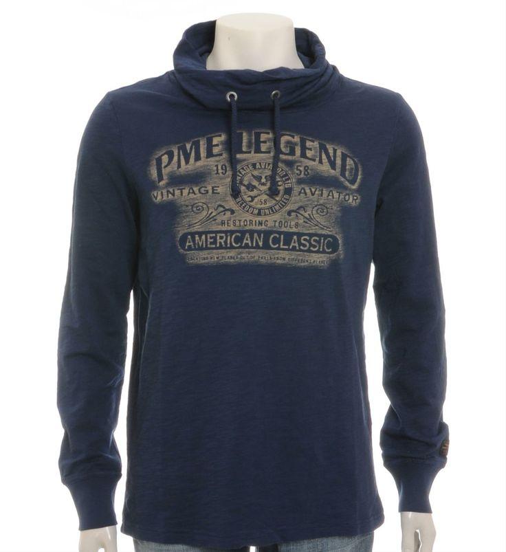 PME Legend - Pall Mall T-shirt in Navy - NummerZestien.eu