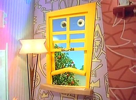 Mr. Window from Pee-Wee's Playhouse