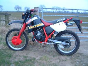 Kawasaki KMX125.  Mine was an unrestricted, 'stolen-recovered' example that went like stink.