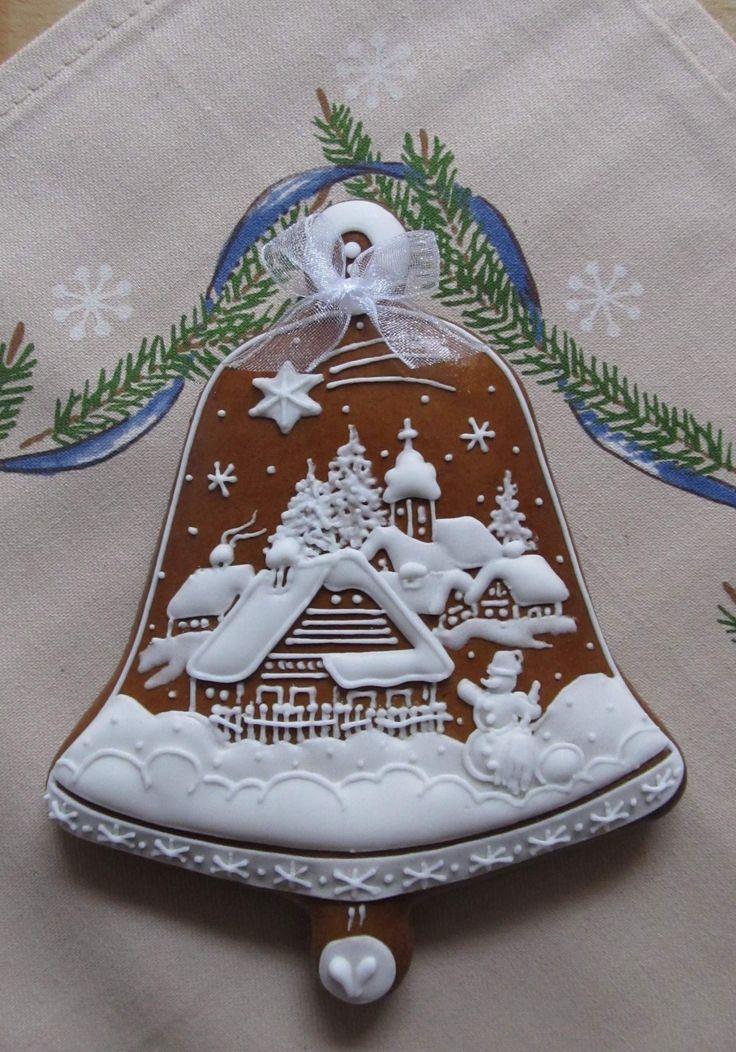 chaloupky z vánoční utěrky