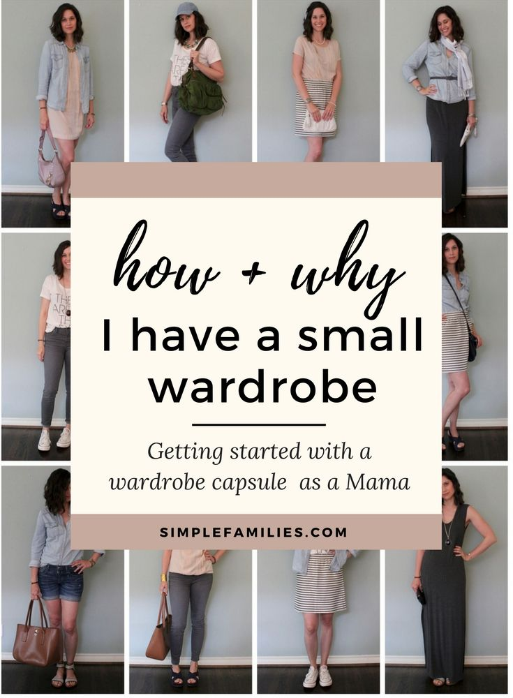 Get starting with a minimalist wardrobe   capsule wardrobe   wardrobe capsule   minimalism   minimalism for moms