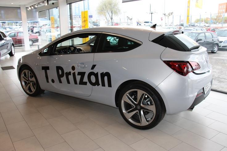 Nuevo Opel Astra GTC, descubrelo en Talleres Prizán
