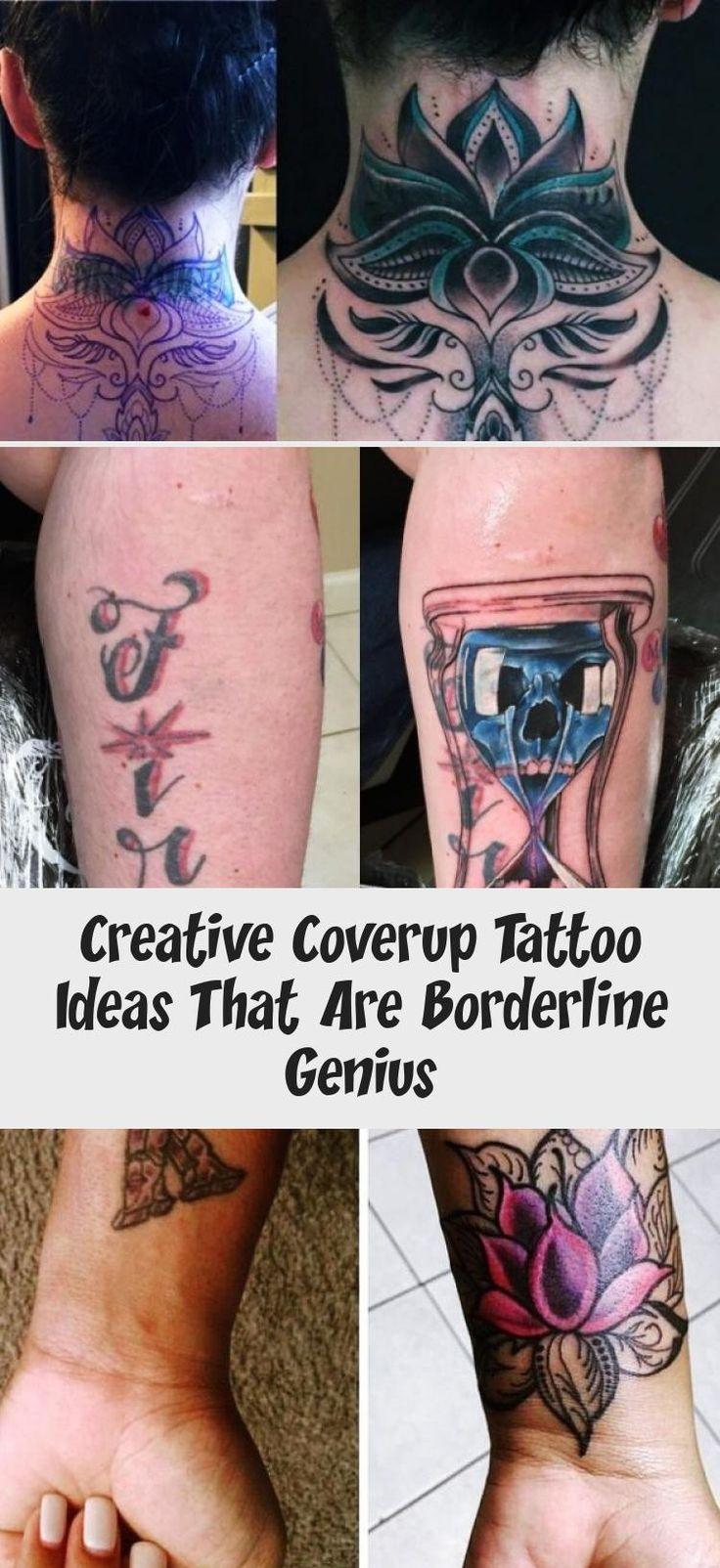 Creative coverup tattoo ideas that are borderline genius