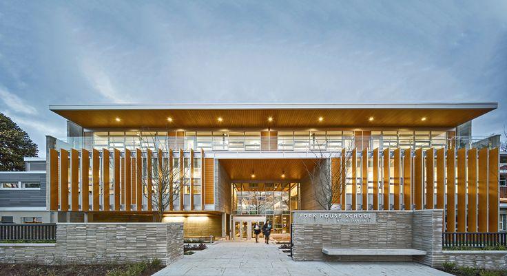 Escuela Secundaria York House  / Acton Ostry Architects