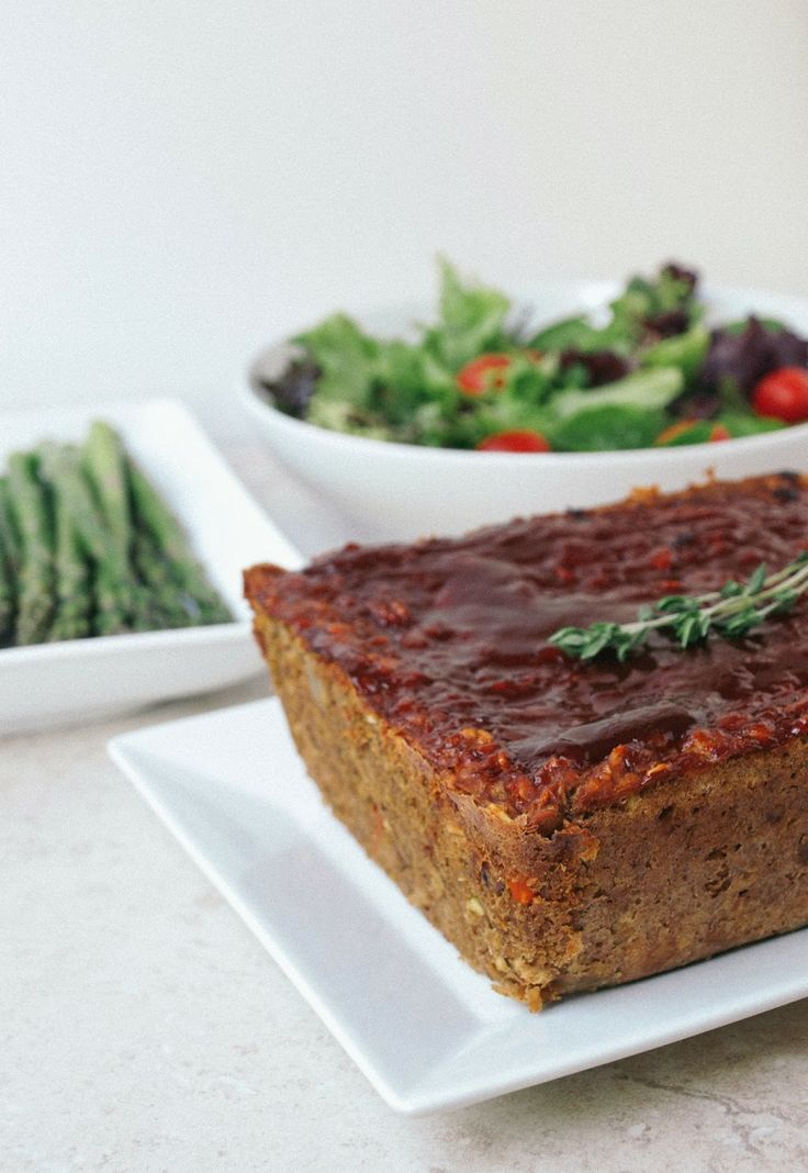 vegan 'meat' loaf recipe