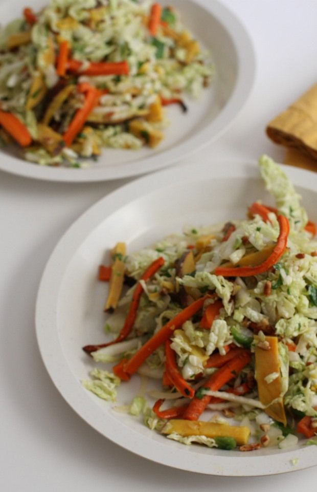 Autumn Napa Cabbage Salad