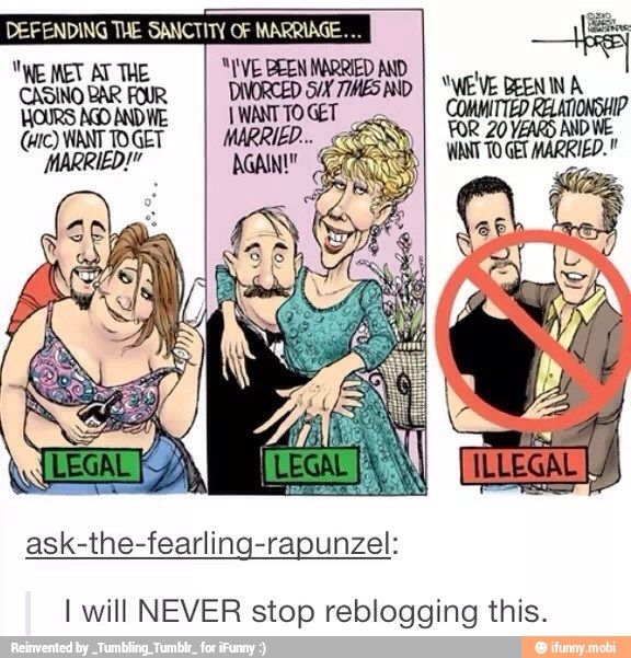 I am so glad that Gay Marriage is now legal.