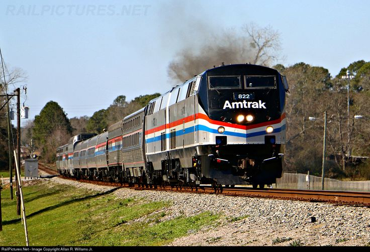For the first time in over a decade, Amtrak passes thru on its way on the Sunset Route in the Florida panhandle. The train stayed overnight in Pensacola before heading on east to Jacksonville, Florida and seen here slowing for its stop at Chipley, Florida