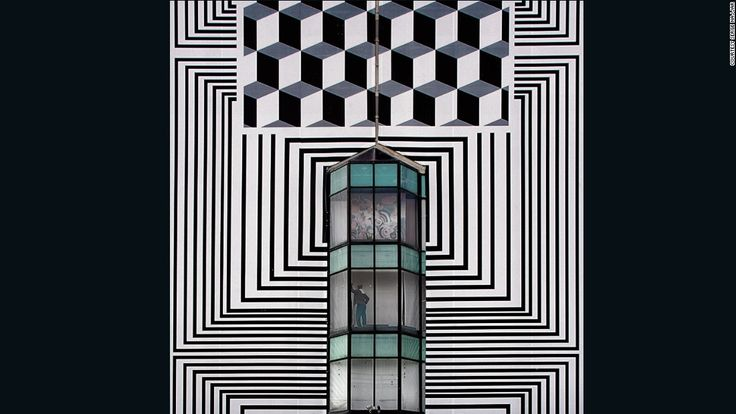 This might look like a painting, but it;s actually a photograph. Its author, Serge Najjar, has the ability to find the visually arresting in everyday life. Drawn to bold geometry and possessing a keen eye with which to frame it, the Lebanese photographer -- who;s also a practicing lawyer -- uses ; to take stills of interesting buildings and make them appear like works of art.
