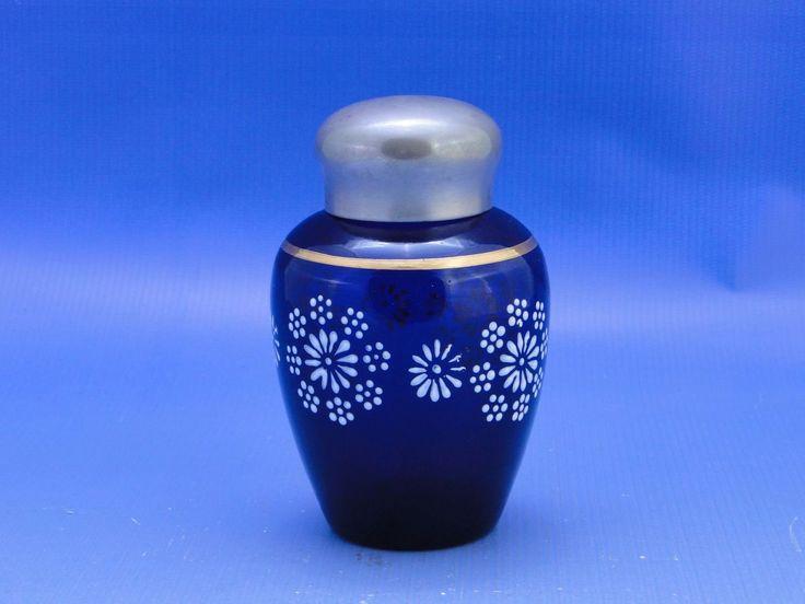 Parádi parfümös üveg szelence