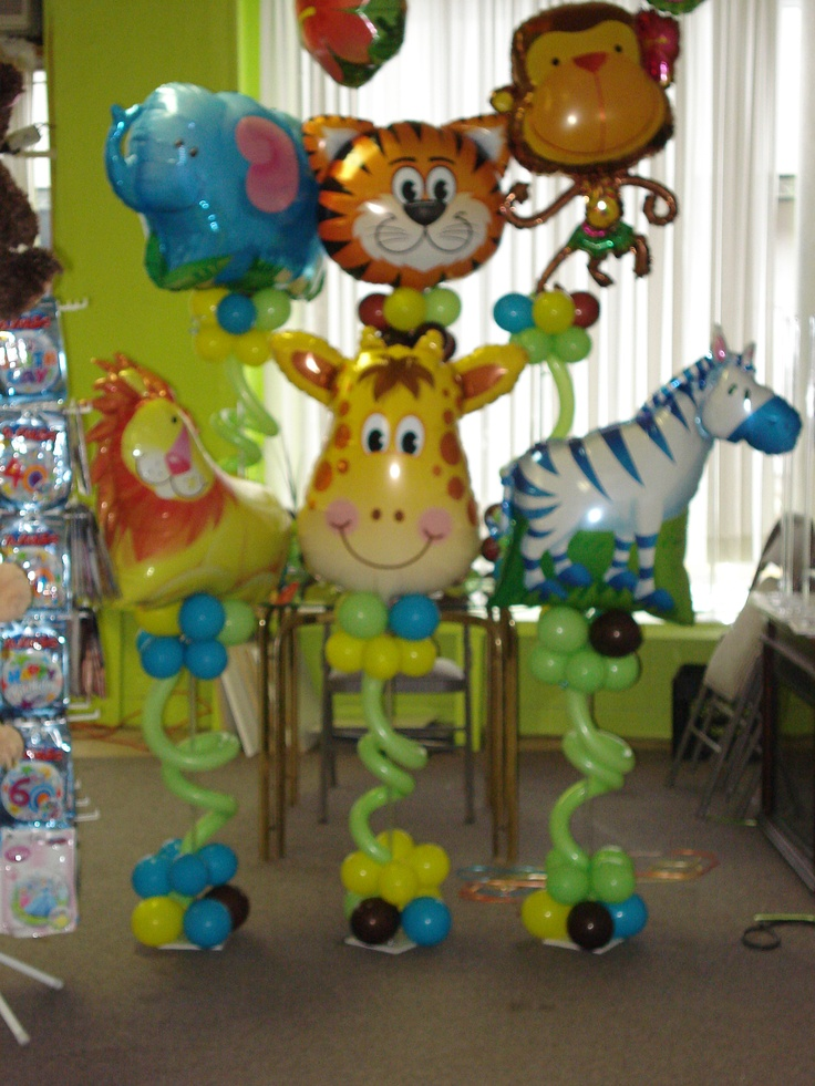 jungle themed baby shower centerpieces pinterest themed baby showers babies and birthdays. Black Bedroom Furniture Sets. Home Design Ideas