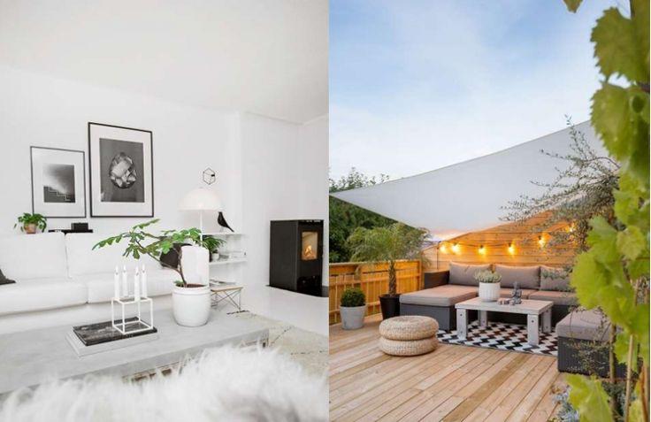 Huis vol licht in Noorwegen