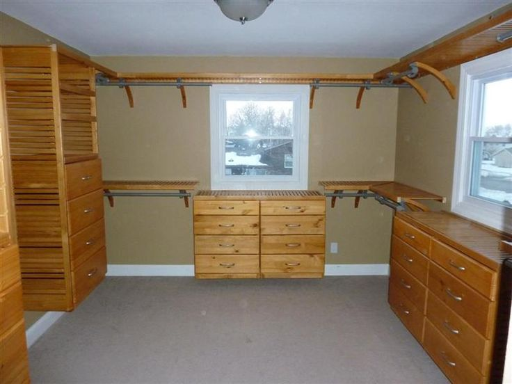 Dressers Made From John Louis Closet Drawers To Match [MBR Closet]