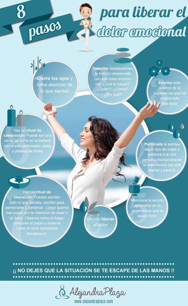 8 pasos para liberar el dolor emocional www.alejandraplaza.com