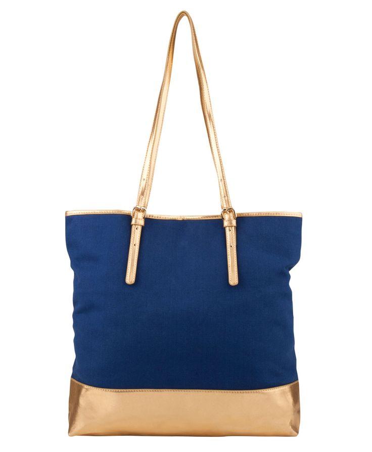 Blue tote @overlandfootwear #backtowork #blue