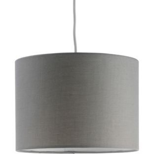 Buy ColourMatch Fabric Shade - Flint Grey at Argos.co.uk - Your Online Shop for Lamp shades.