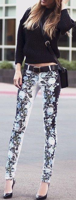 se vienen los pantalones con diseño ojo