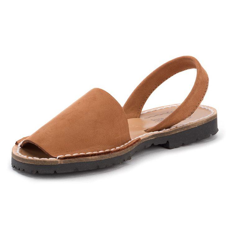 Menorquinas Niños Avarcas nobuck - Nuestras menorquinas para niños y mayores son un calzado perfecto para el verano. En Pisamonas más baratas. #menorquinas #menorcansandals #avarcas #sandálias