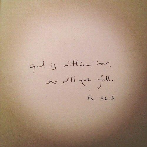 Psalm 46: 5