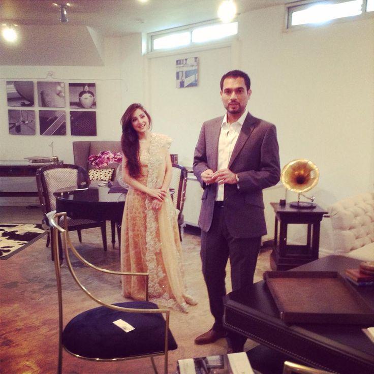 Dynamic Duo: BTS at Tena Durrani's latest shoot with OK Pakistan. Shot by Kohi Mari, featuring both Tena Durrani and her business partner, Taimur Shah, the corporate genius behind Tena Durrani.   #tenadurrani #bridals #tenadurrani #beauty #style #love #couture #coco #pakistan #pakistana #london #dubai #karachi #fashion