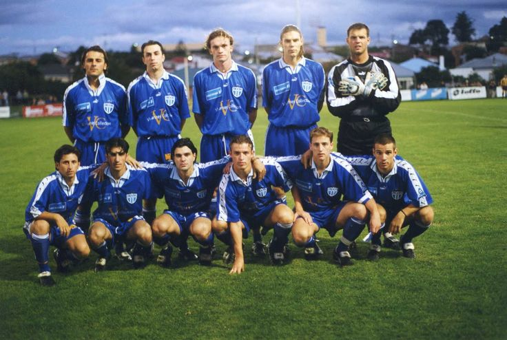 SMFC Team Photo from 1998-99