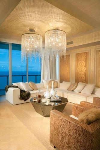 Elegant living room ▇  #Home #Decor  via - Christina Khandan  on IrvineHomeBlog - Irvine, California ༺ ℭƘ ༻