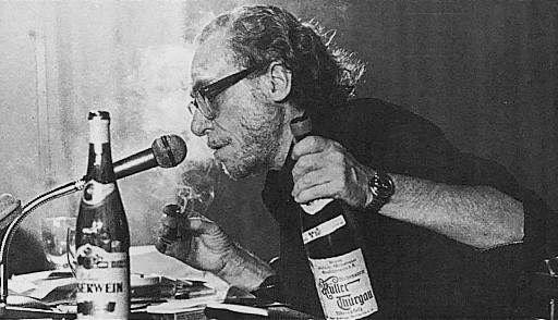 Read ANYTHING by this wonderfully insane mind. Bukowski is a god. An alcoholic, sex-crazed god.