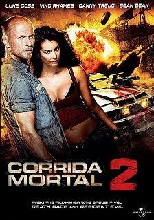 Corrida Mortal 2 AC-CR-DR (2010) 1H 40Min Titulo original: Death Race 2 Assisti 2017/03 - MN 7,5/10 (No Pin it)