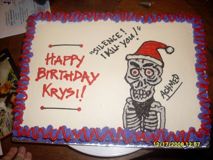 17 best images about cakes jeff dunham on pinterest for Achmed the dead terrorist halloween decoration