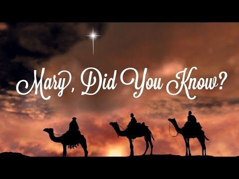 Mary, did You Know? - Piano Instrumental Karaoke Track (Cherish Tuttle V...
