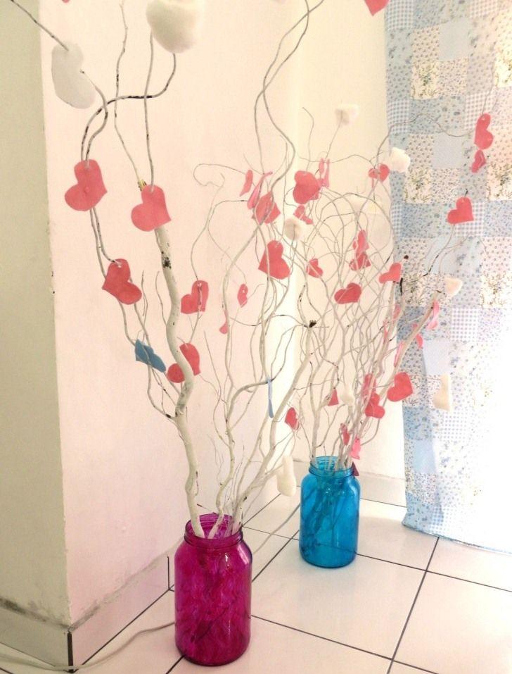 decoração festa diy vasos