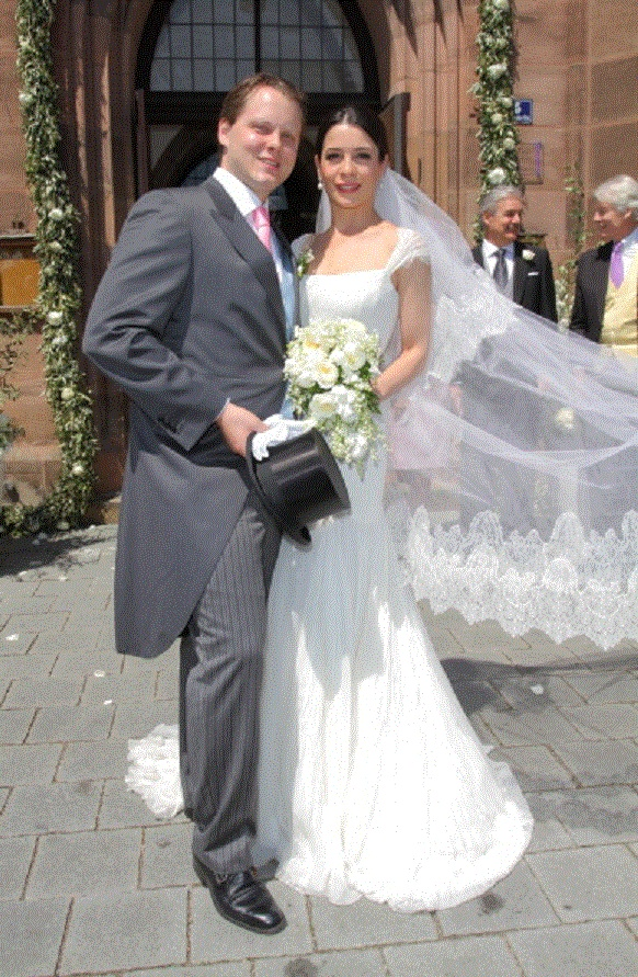 Count Charles Alexander Von Faber-Castell and Melissa Eliyesil Wedding Day on 26 May 2012